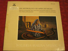 LP NIGERIA - HAUSA MUSIC 2 AN ANTHOLOGY OF AFRICAN MUSIC BÄREN REITER MUSICAPHON