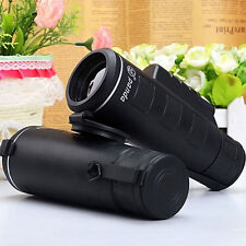 Day&Night Vision 40X60 HD Optical Monocular Hunting Camping Hiking Telescope GB