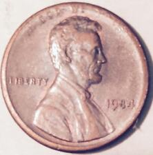 1984  TYPE 2 ERROR  LINCOLN CENT (MAJOR ERROR)  NICE COIN  #222