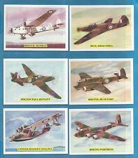 cigarette/trade cards - THE EMPIRE`S WORLD WAR 11 AIR POWER - Mint condition set