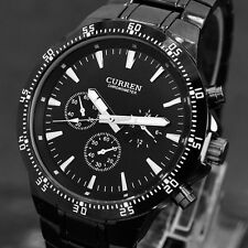 CURREN 8063 Fashion Military Men Sports Wrist Watch Full Steel Luxury Watches