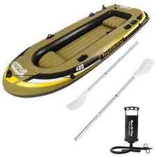 Gommone Fishman pesca mare lago fiume 340x142cm gonfiabile remi pompa 007210-1N