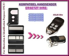 Motorlift 4330EML, 4333E, 4335EML Kompatibel handsender (NOT MADE BY MOTORLIFT)