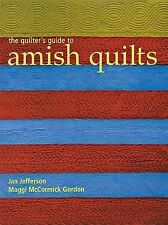 AMISH QUILTS by Maggi McCormick Gordon, Jan Jefferson (Paperback, 2003).