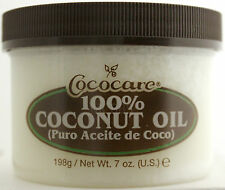 COCOCARE 100% COCONUT OIL HAIR SKIN SCALP CONDITIONER HAIR DRESS 7 OZ.