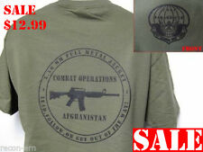 PARARESCUEL T-SHIRT/ AFGHANISTAN COMBAT OPS T-SHIRT/ MILITARY/ NEW/   XL