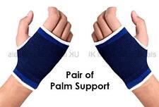 2 x Palm NEOPRENE ELASTICA SUPPORTO Mano Cinturino Polso Brace GUANTO SLEEVE Artrite
