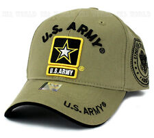 U.S. ARMY hat Military ARMY STRONG Official Licensed Baseball cap- Khaki Beige