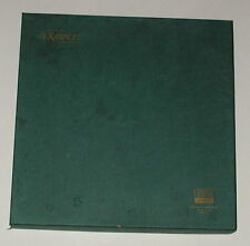 Vintage 1977 SCRABBLE Deluxe Edition Turntable Board Game Selchow & Righter Co.
