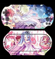 Japan Anime No Game No Life Skin Cover Sticker For PlayStation PS Vita PSV 2000