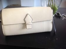 Zara cream beige bowling messenger Cross body bag bnwt