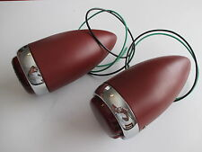 39 CHEV TAIL LIGHTS 1939 PAIR LAMP HOUSINGS REAR HOTROD CUSTOM UTE PRIMER
