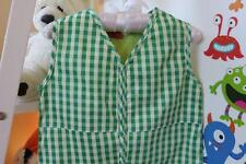 COZY TOUCH Baby Sleeping Bag 0.5 TOG GREEN CHECK 6-18 MONTHS