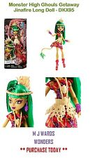 Monster High Ghouls Getaway Jinafire Long Doll - DKX95