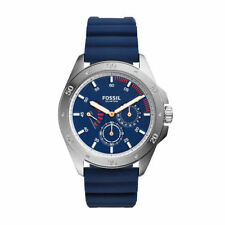 Fossil Men's Watch Sport 54 Blue Silicone Chronograph CH3062