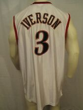 ALLEN IVERSON PHILADELPHIA 76ERS  JERSEY MEN SZ 46 NOT A THROWBACK VIC-THOR1