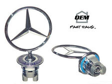 NEW Genuine Mercedes Benz Standing Star Hood Emblem 2108800186 2108800286