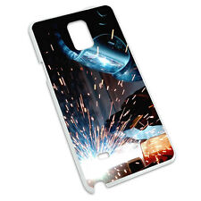 Welder Welding Hot Metal Worker - Soldering Case for Samsung Galaxy Note 4