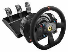 Thrustmaster T300 Ferrari Integral Racing Wheel Alcantara Edition for PS4/PS3/PC