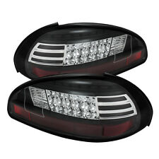 Pontiac 97-03 Grand Prix Black LED Rear Tail Lights Brake Lamp Set GTP/GT/SE