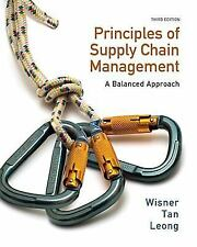 Supply Chain Management: A Balanced Approach 3/E Int'L Edition