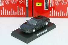 Kyosho 1/64 Ferrari Testarossa 1984 Black Minicar Collection 2 Japan 2005