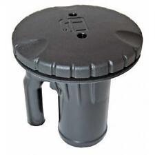 Deck Filler / Fuel Filler for Boat 38mm or 1 1/2'  Built in Breather Black cap