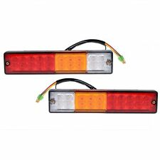 Waterproof IP65 3W Trailer Truck RV Tail Light Turn Signal Reverse Lamp 2X 20LED