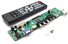 V29 Universal LCD Control Tarjeta TV Placa Base VGA HDMI AV TV USB Interface