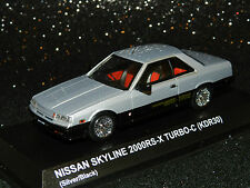 Kyosho 1/43 Nissan Skyline 2 Door Sports Coupe (KDR30) Silver MiB