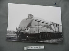 Vtg B&W Photo British Railroad  #307 W1 Class 10000