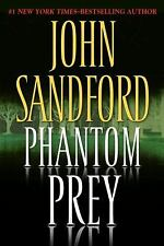 Prey: Phantom Prey by John Sandford (2008, Hardcover) 1st/1st  w Dust Cover VG