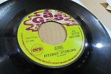 "FITZROY STERLING got to play it cool /jezabel 7"" 45 on GAS ORIGINAL roots reggae"