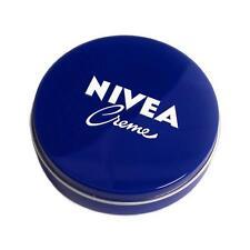 German NIVEA Cream 5fl oz/150ml Blue Metal Tin Lotion Classic Original Creme