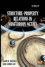 Structure-Property Relations in Nonferrous Metals- Cheapest on ebay!