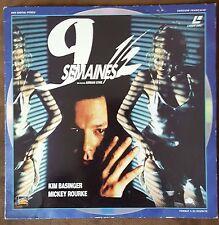 LASER DISC 9 SEMAINES 1/2 (KIM BASINGER, MICKEY ROURKE)