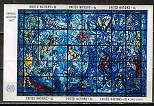 UN Marc Chagall Famous Painting 1967 Souvenir Sheet MLH