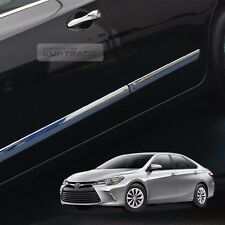 Chrome Side Skirt Door Line Sill Garnish Molding Trim 4P for TOYOTA 12-16 Camry