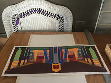 """George Mueller signed numbered 42/200 ed print """"Porch 3"""""""