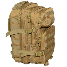 COYOTE Molle RUCKSACK Assault Small 20L BACKPACK Tactical Army Khaki Day Pack