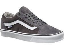 New Vans Mens 10 Old Skool Lite Suede Hemp Pewter Gray Skate Sneakers Shoes