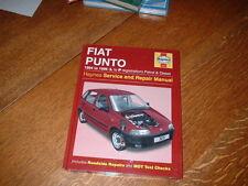 Nuovissimo manuale HAYNES per FIAT PUNTO. 1994 al 1996. L a p registrazione.