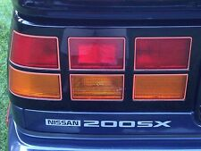 New 1984-1989 200SX Rear Badge Decal S12 TURBO SE V6 XE