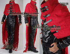 Final Fantasy VII FF7 Vincent Valentine Cosplay Costume Any size