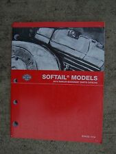 2012 Harley-Davidson Motorcycle Softail Models Parts Catalog 99455-12A    V