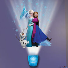 Wild Walls DISNEY FROZEN wall stickers 38 decals with LIGHT & SOUNDS Elsa Anna