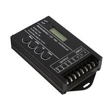 20A Programmable LED Time Dimmer RGB Controller DC12V/24V 5 Channel Adjustable H