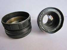 Zenit 44M-4 Helios M42 Pentax Screw mt 58mm f2 Swirly Bokeh lens For Parts