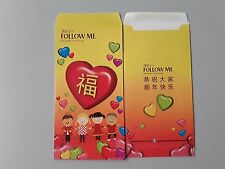 Ang Pao Red Packet FOLLOW ME  1pc