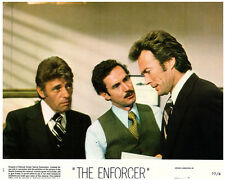 THE ENFORCER ORIGINAL US LOBBY CARD CLINT EASTWOOD DIRTY HARRY BRADFORD DILLMAN